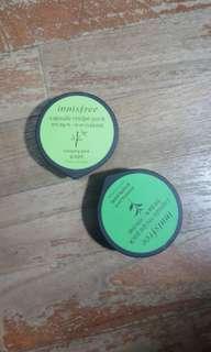 Innisfree Capsule Recipe Pack green tea and bamboo