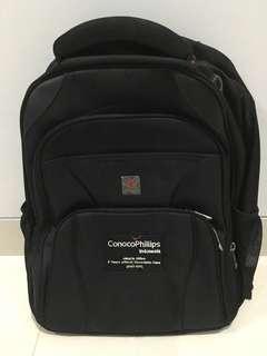Backpack polo classic dengan tulisan ConocoPhillips