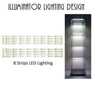 LED Strips LED Lighting Kits for DETOLF Cabinet IKEA 8 Strips