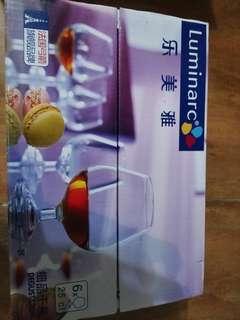 Luminarc法國樂美雅酒杯25cl(11 隻有盒)