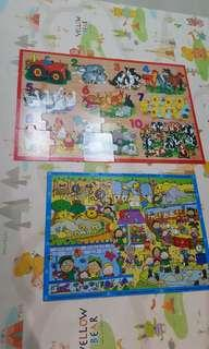 Floor puzzle/ Kid's jigsaw puzzle for 2 - 5 years old
