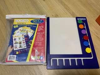 🚚 Logico Primo board and card set A