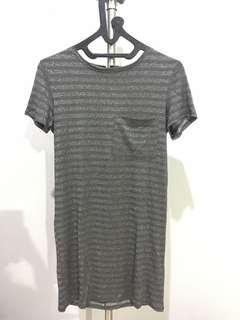 Tshirt Dress BERSHKA