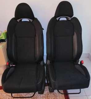 Honda crz car seat