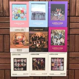 [WTS] WANNA ONE ALBUMS
