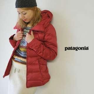 全新 New Patagonia Women's Downtown Jacket 厚身羽絨 帽可收藏