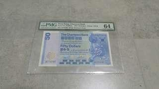 1st Prefix Chartered Bank $50