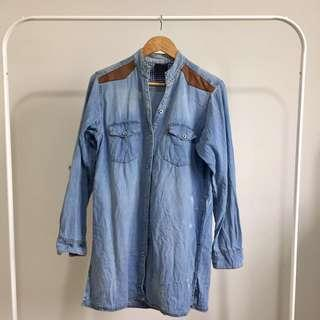 Denim top shoulder & elbow patch #jan50