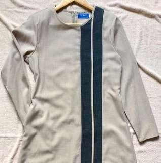 Jubah BEAN cream Size 38 #jan50