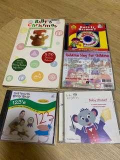 🚚 Baby music Christmas cd