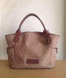 Original Dooney and. Bourke Large Signature Bag