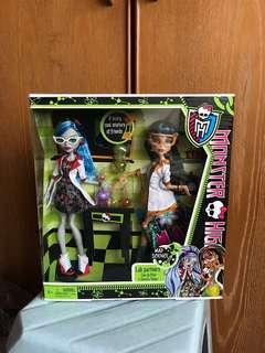 Monster High Mad Science dolls
