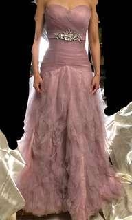 晚裝 wedding gown/dress