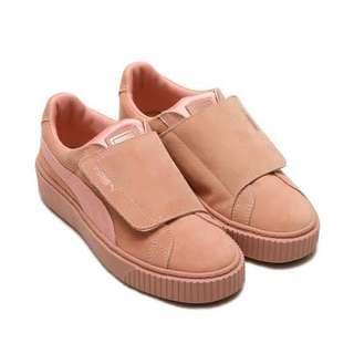 PUMA Platform Strap Satin Shoes