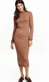 Tag* H&M Brownish/ Tan/ Nude dress