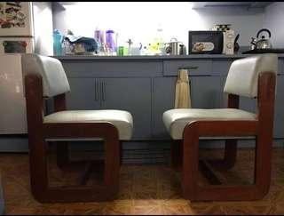 Good condition dining chairs price for 2 Pieces