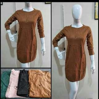 Dress suede