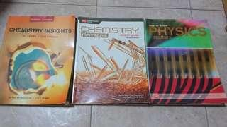 O Level Science Textbooks (Physics & Chemistry)