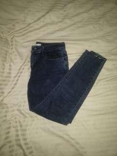 Levi 710 high waisted Jeans