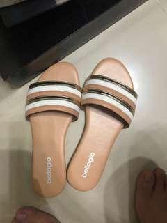 Bellagio sandal nude cream 37