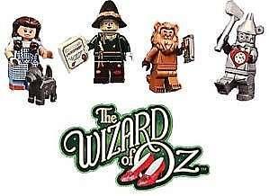 🚚 4x Lego 71023 Wizard of Oz Lego Movie 2 minifigures