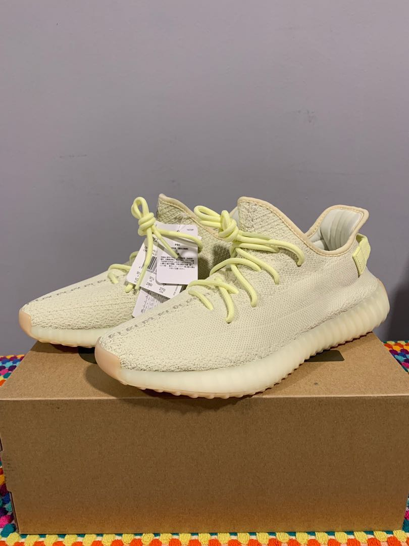 298aa7b1a 💯 Auth Yeezy 350 yellow   butter