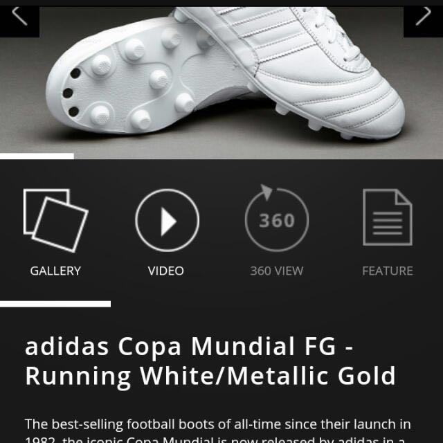 643cdef72e02 Adidas Copa Mundial Whiteout - FG, Sports, Sports & Games Equipment ...