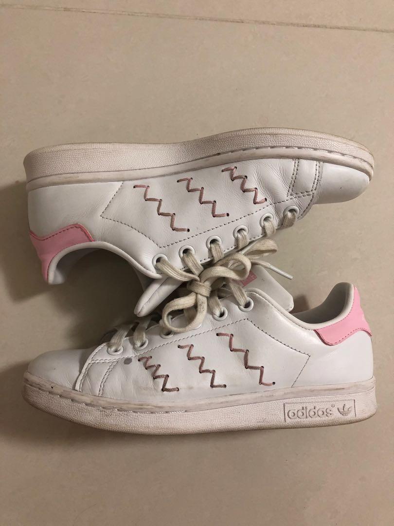 a60978dd8896 adidas stan smith pink zigzag