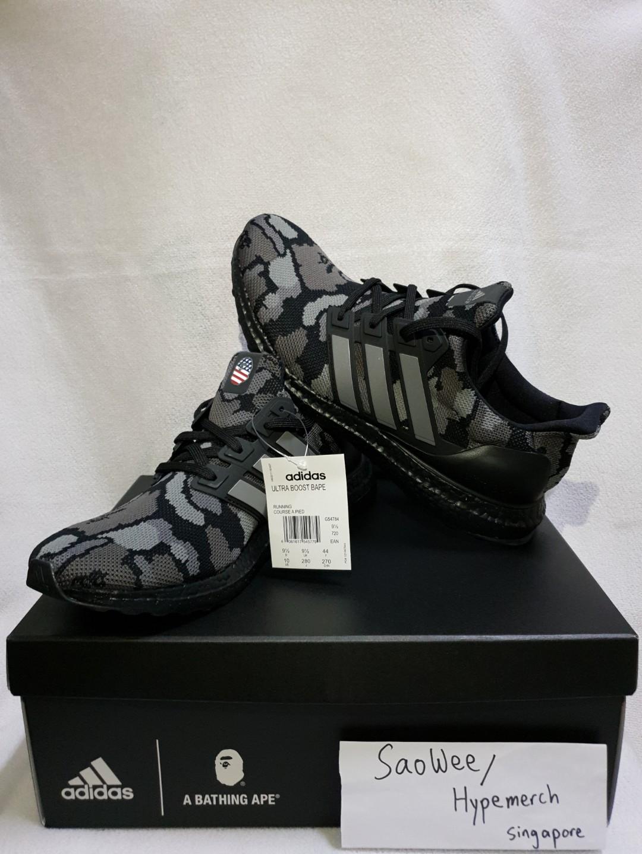 the latest 584e2 d867b Adidas x Bape Ultraboost