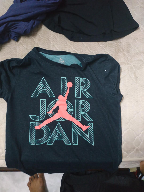 c373dd12b01 Air Jordan t shirt, Men's Fashion, Clothes, Tops on Carousell
