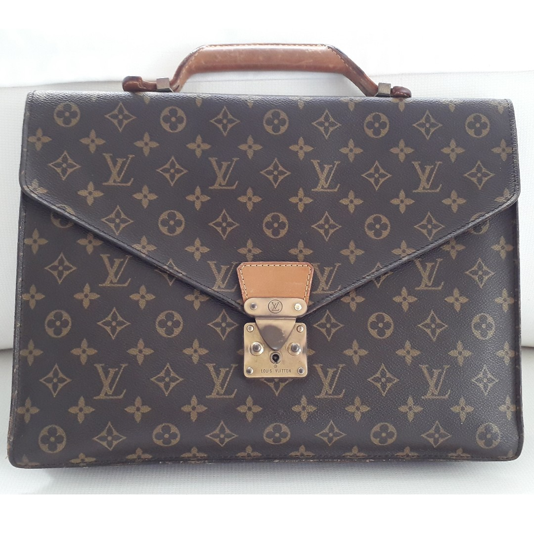 4be372195 Authentic LV Attache Briefcase, Luxury, Bags & Wallets, Briefcases ...