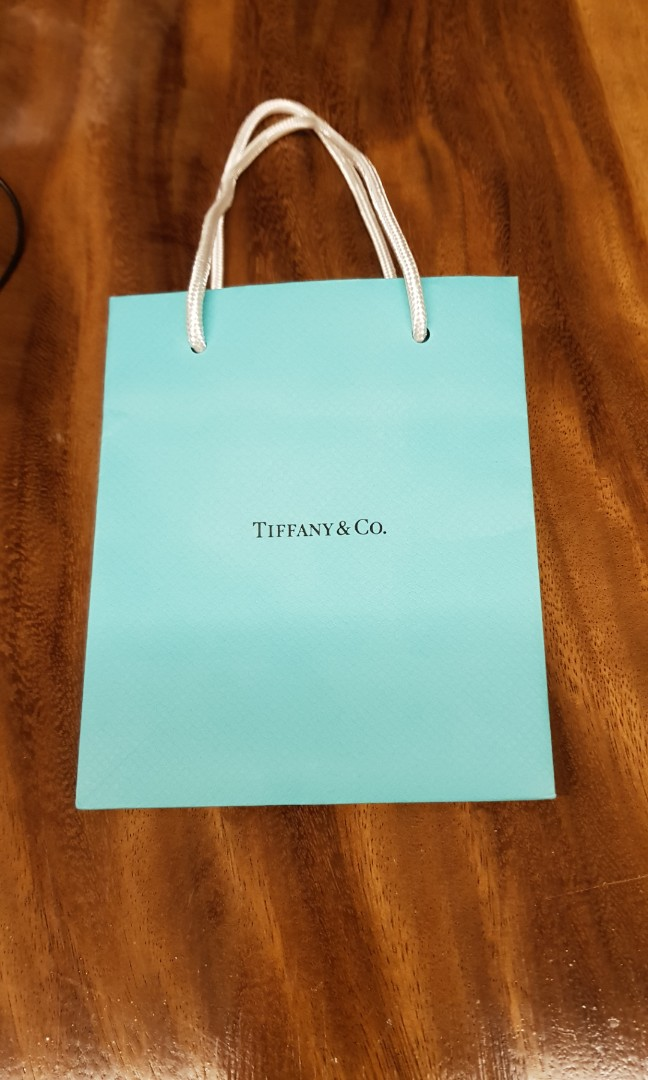 58aa9877e5c Authentic Tiffany paper bag - Tiffany & Co gift bag, just obtained, Luxury,  Accessories, Others on Carousell
