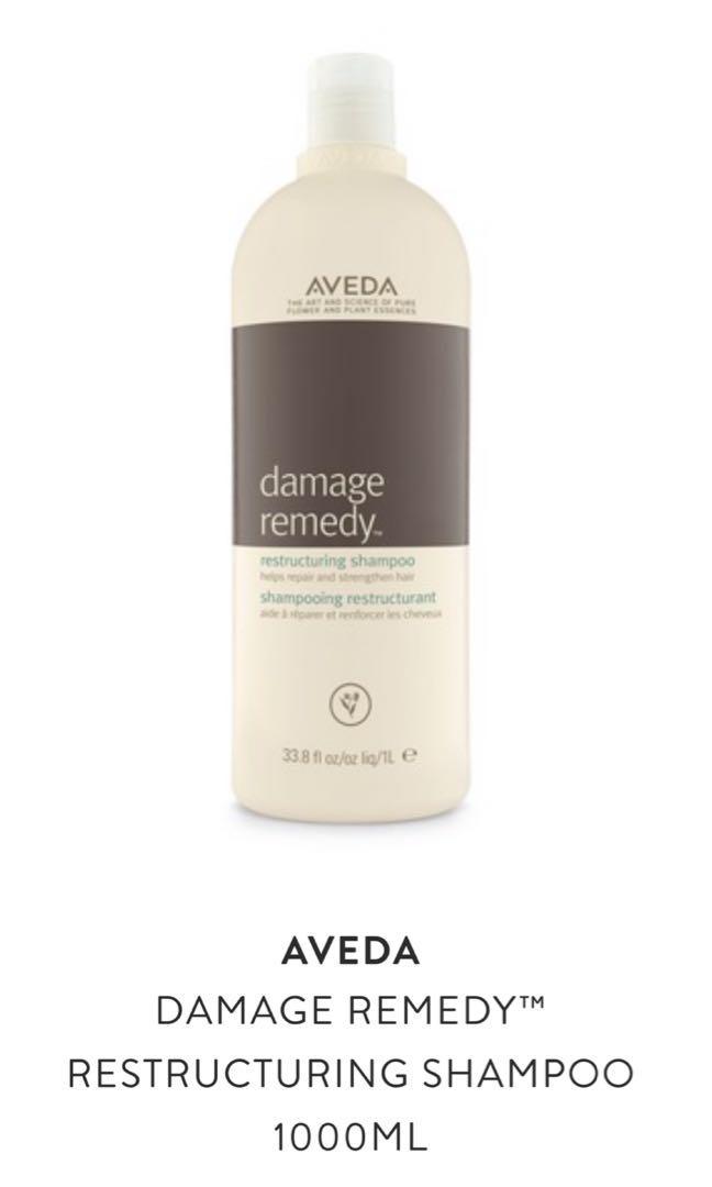Aveda - damage remedy & dry remedy 洗頭水 1000ml