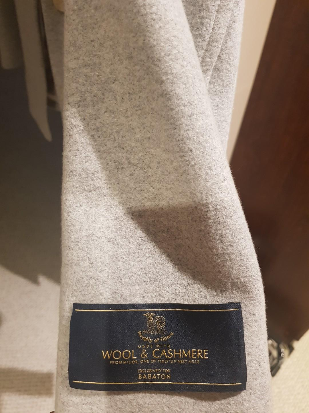 Babaton winter cashmere jacket
