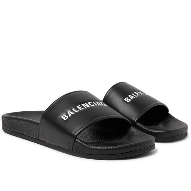 ac79703364b57b Balenciaga pool sliders