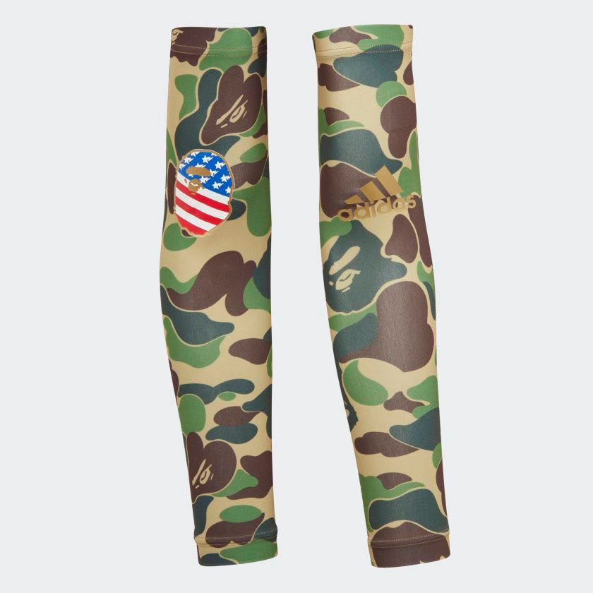 199f1d9d BAPE X ADIDAS SB ARM SLEEVES, Men's Fashion, Accessories, Others on ...