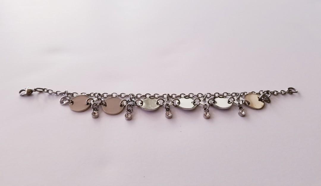Be Her Valentine - Silver Plated Bracelet