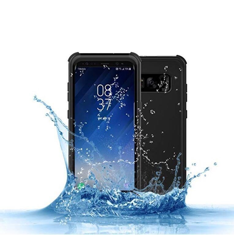 sale retailer 4d361 5b6bc Becho Waterproof Case for Samsung Galaxy S8 Plus, Slim Light Waterproof  Shockproof Dirtproof Snowproof Cover Case, Full-body Protective Underwater  ...