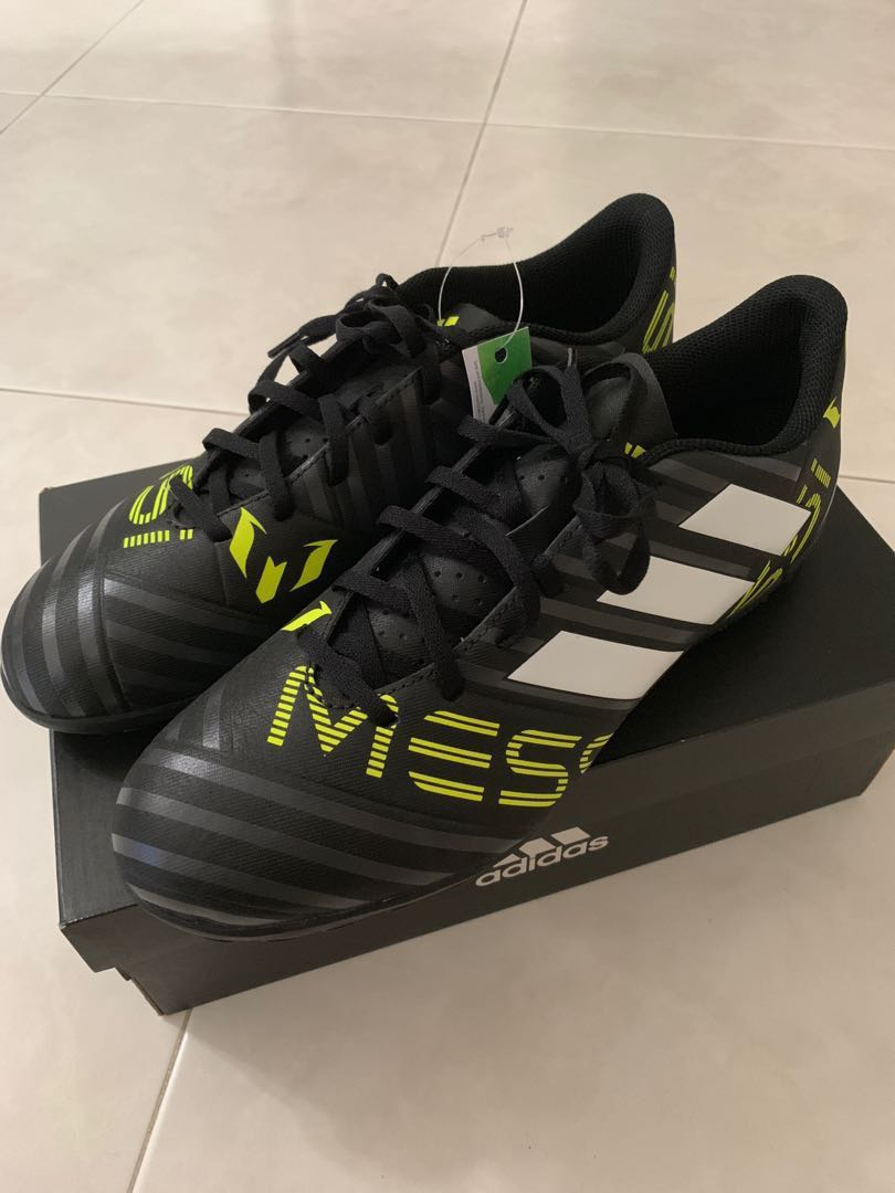 010d6c0e6e65 BNIB Adidas Nemeziz Messi 17.4 TF Indoor Turf Soccer Shoes Size US ...
