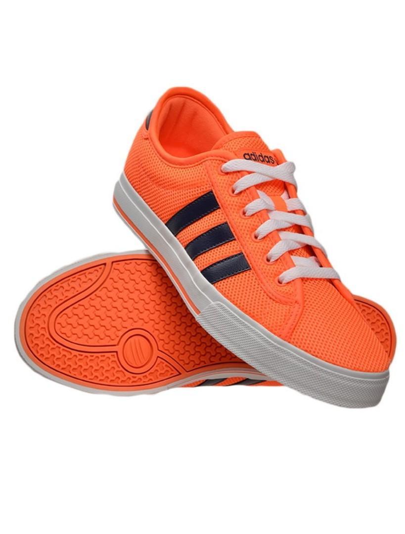 adidas neo orange