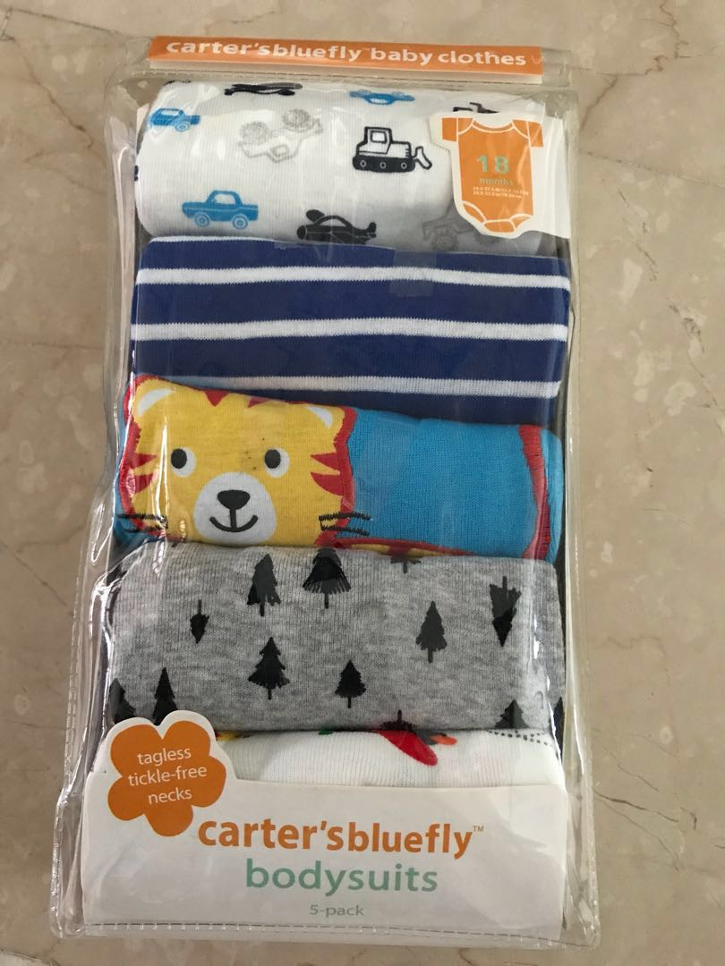 3cd1fe85e Brand New Carter s bluefly rompers (5 pieces)