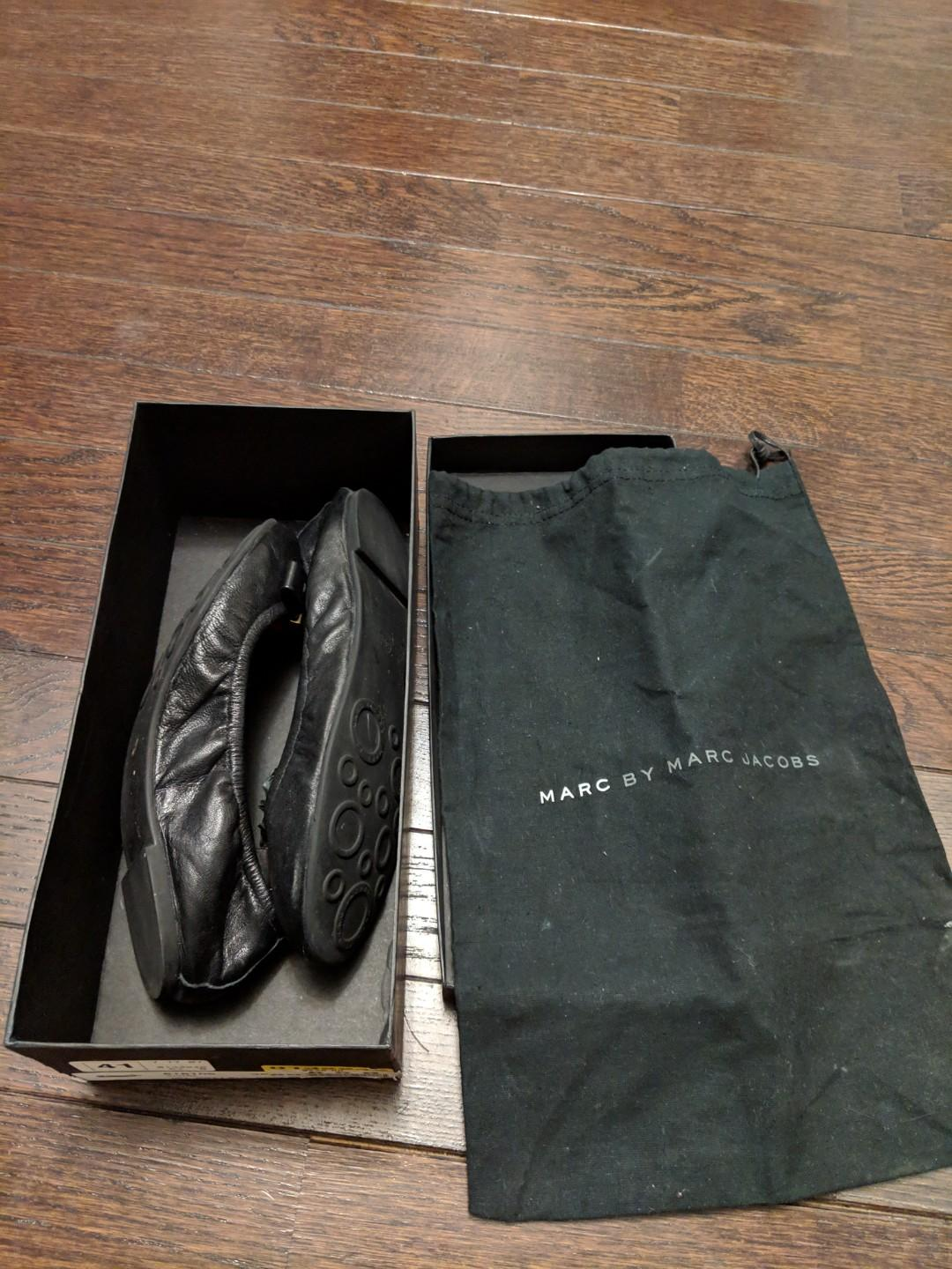 Brand new Marc Jacobs ballet flats with original dust bag and box