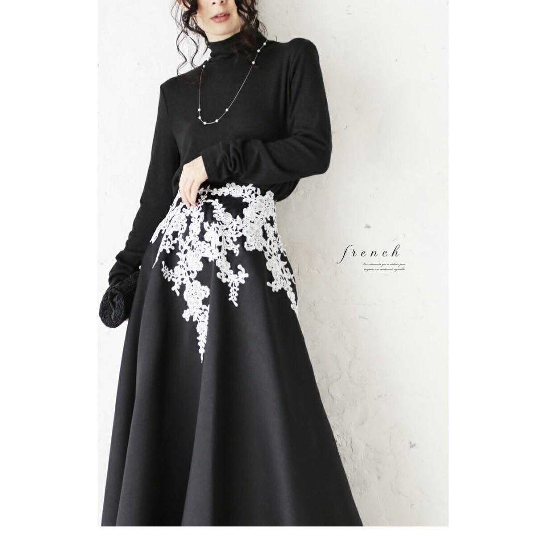 Cawaii 副線 french lace black skirt 購自日本 名牌 黑色裙 全新