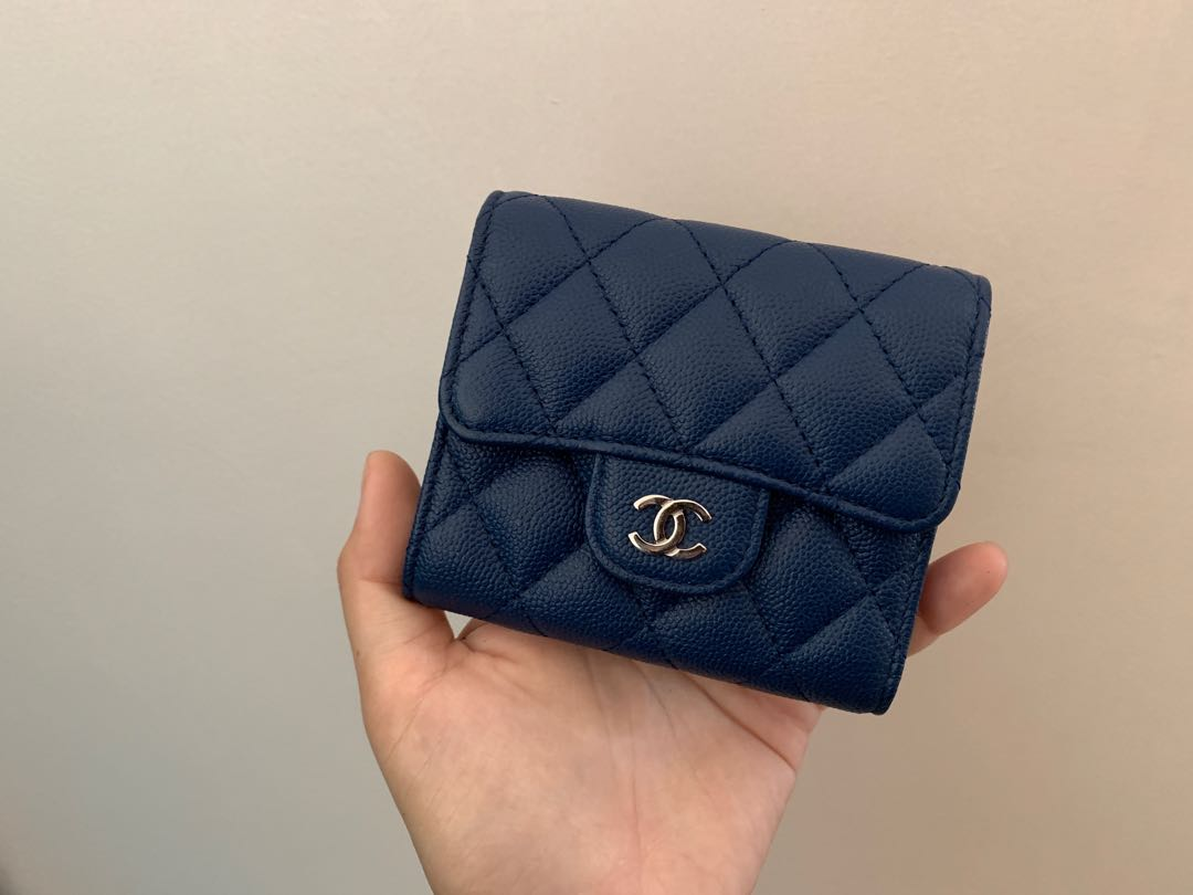 2b6dc26122950a Chanel Trifold Wallet, Luxury, Bags & Wallets, Handbags on Carousell