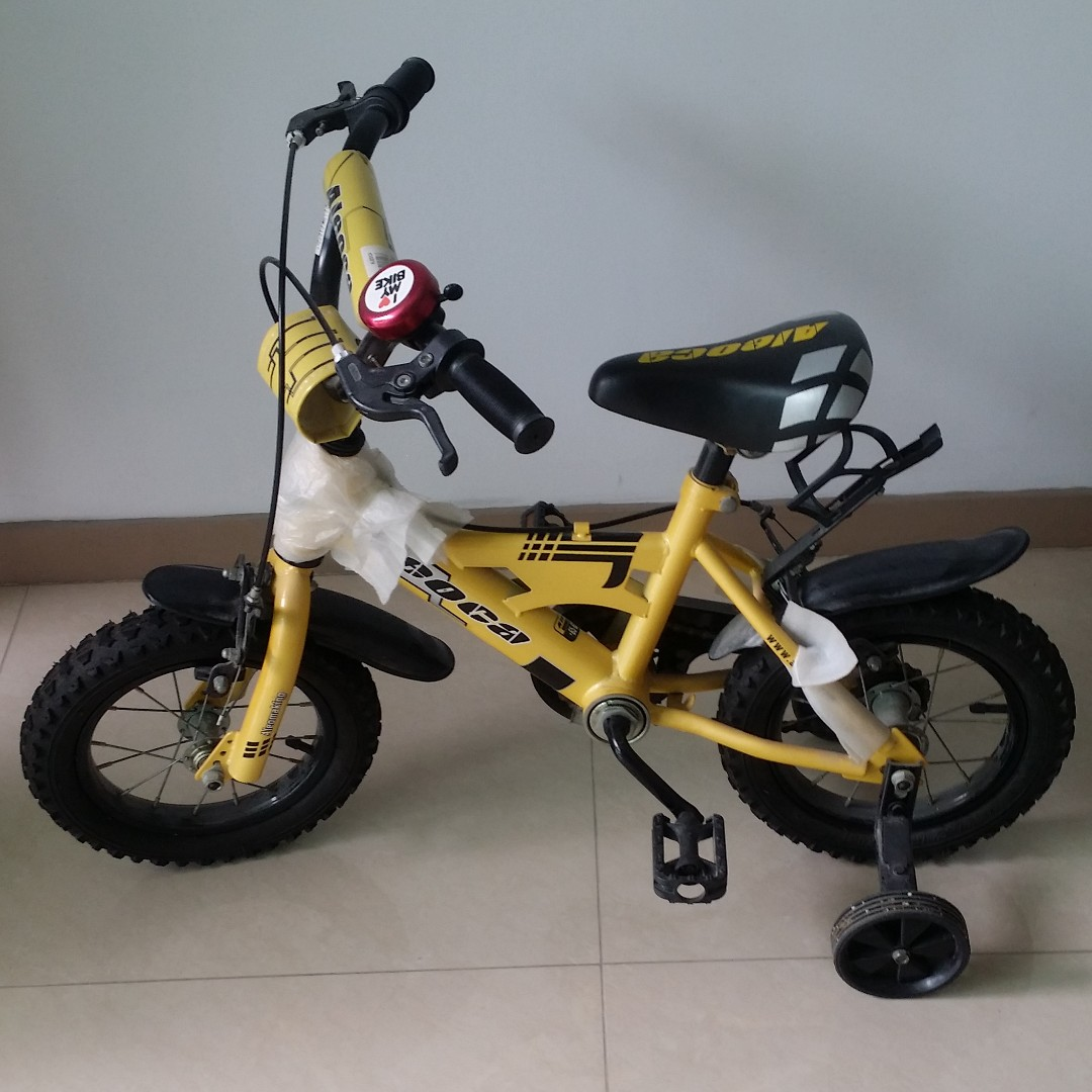 Children Aleoca 4 Wheels Bicycle Everything Else On Carousell
