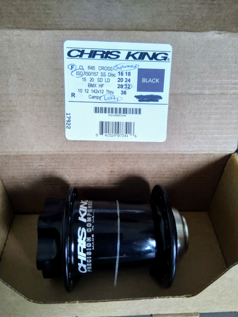 Chris King ISO Disc Front Hub - Lefty