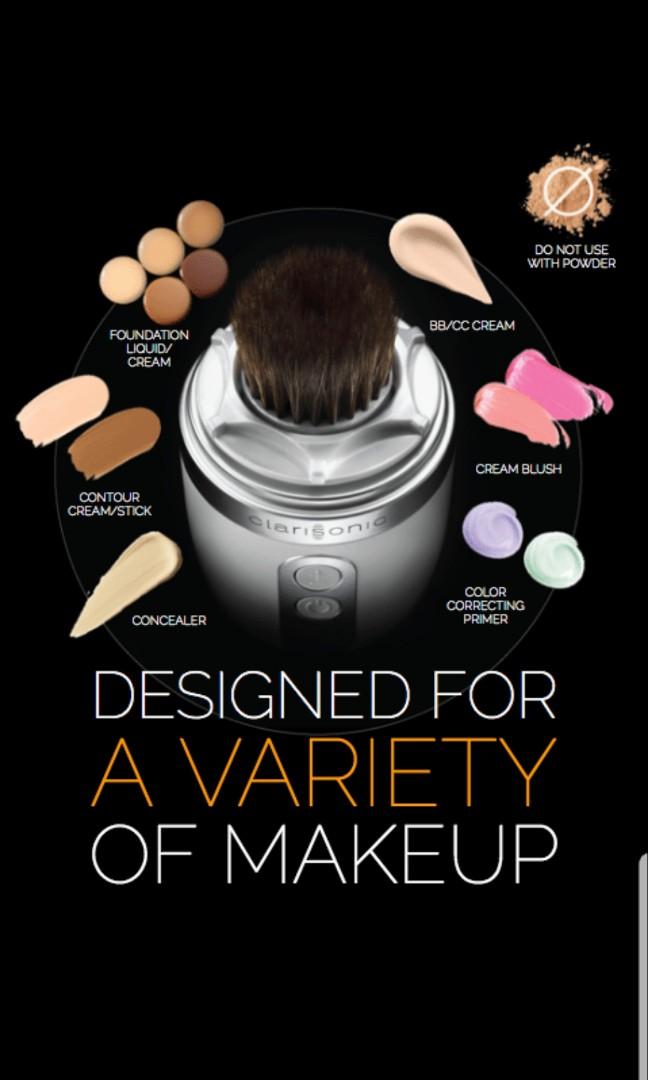 Clarisonic Foundation Brush Head Health Beauty Makeup On Carousell