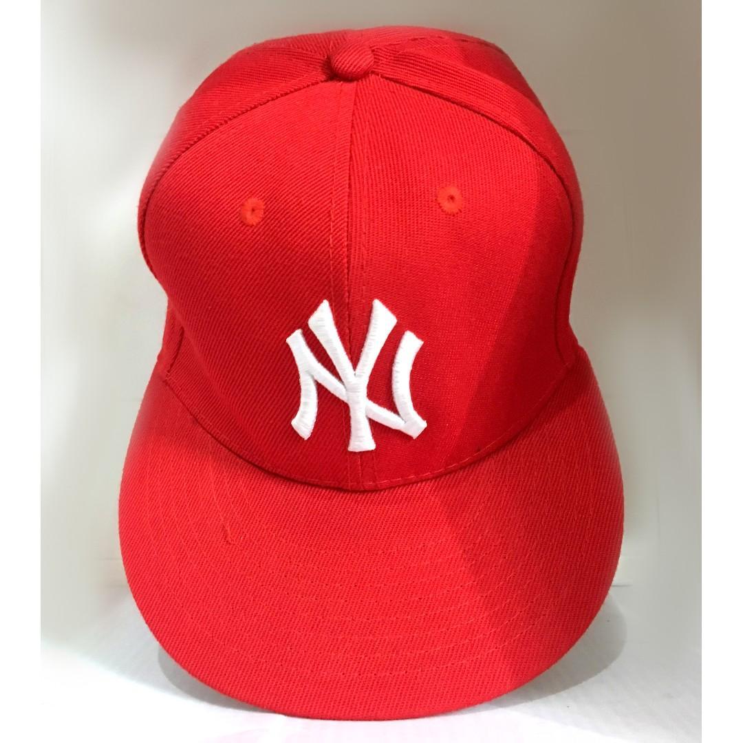 #CNY2019 Snapback Full Red NY Yankees New Era (Topi Snapback Merah NY Yankees New Era)