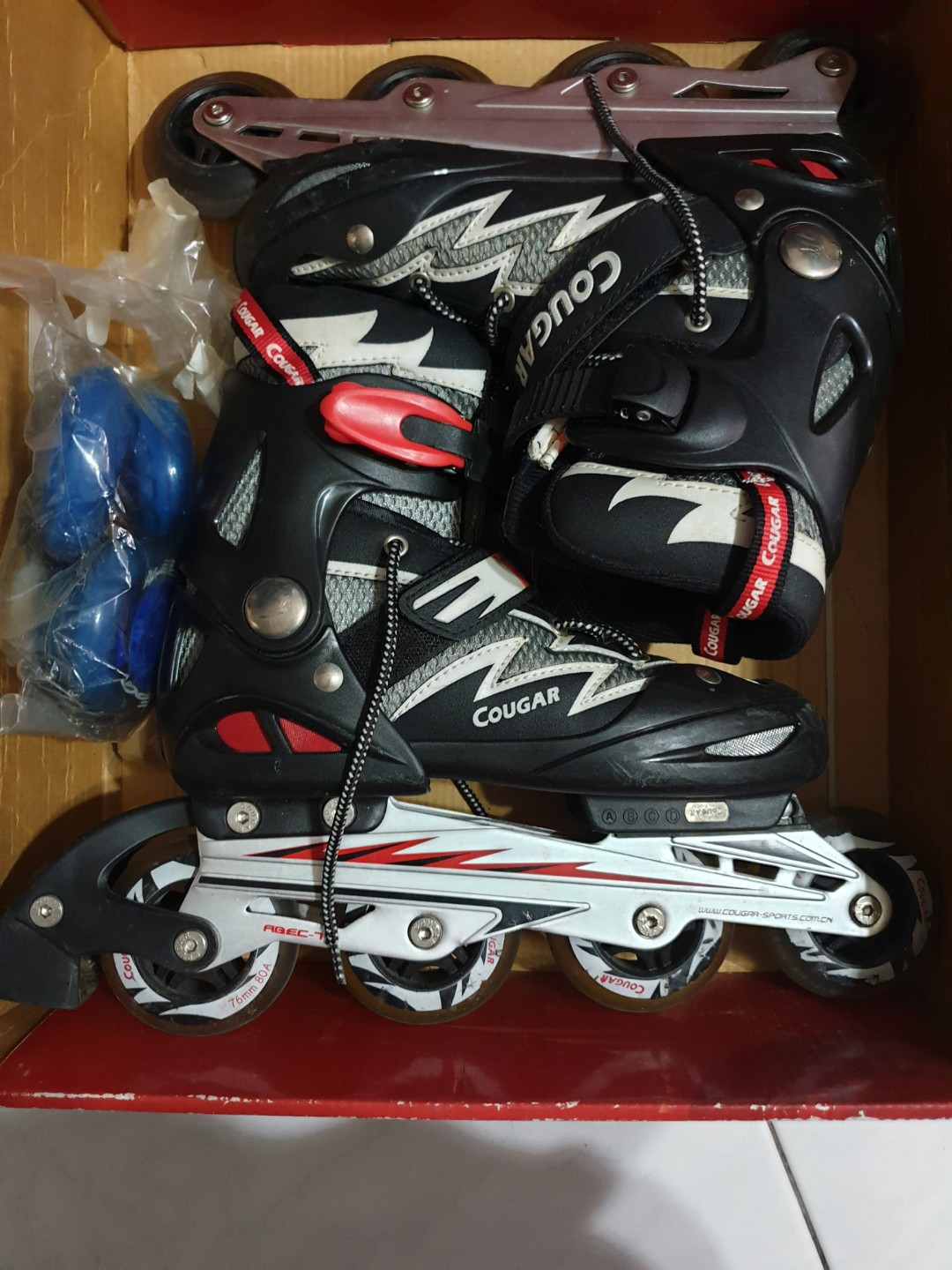 1a014512675 Cougar roller skates L:36-39, Bicycles & PMDs, Personal Mobility ...