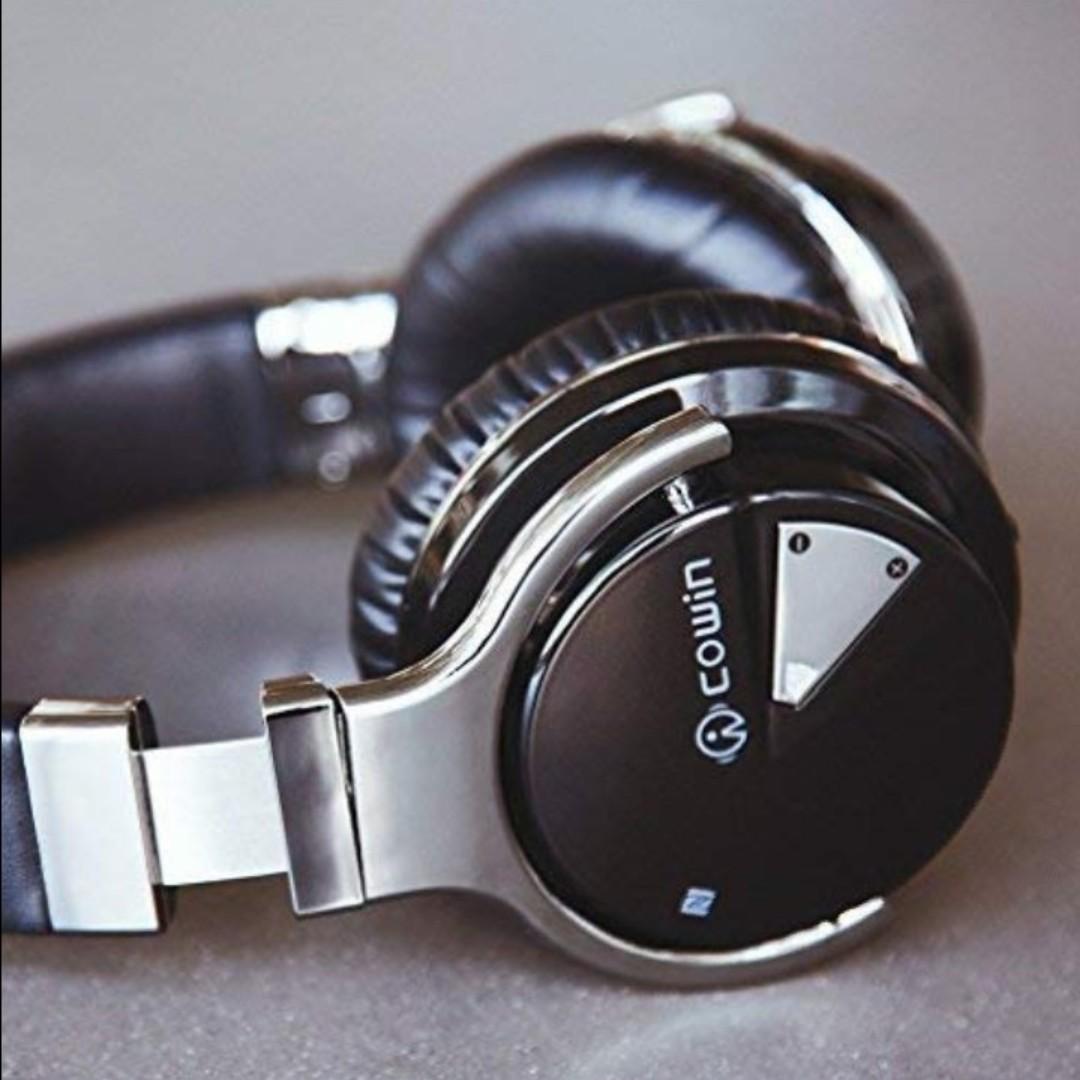 040027de3a5 COWIN E7 Active NO Noise Cancelling Bluetooth Headphones with ...